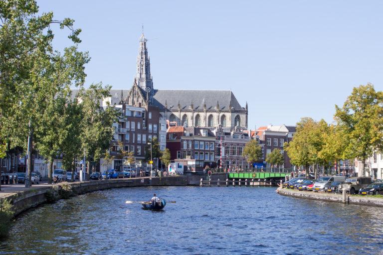 Omgeving Haarlem Spaarne Grote Kerk